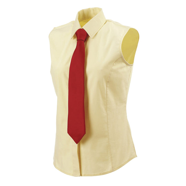 Equetech Sleeveless Stretch Show Shirt Soft Yellow Studio SWS