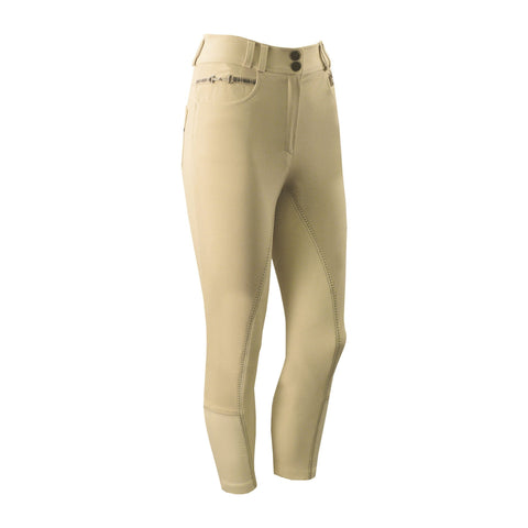Equetech Snaffle High Waist Breeches in Champagne SNB