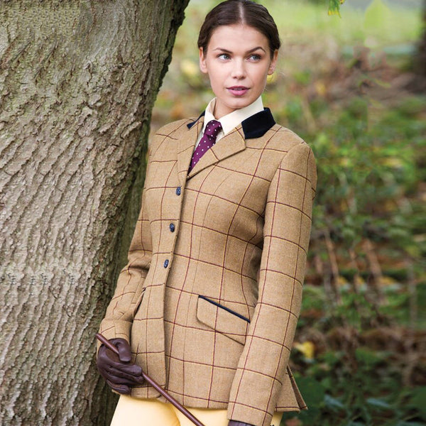 Equetech Wheatley Deluxe Tweed Riding Jacket WAV