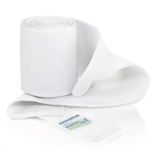 Equilibrium Stretch and Flex Exercise Bandages in White