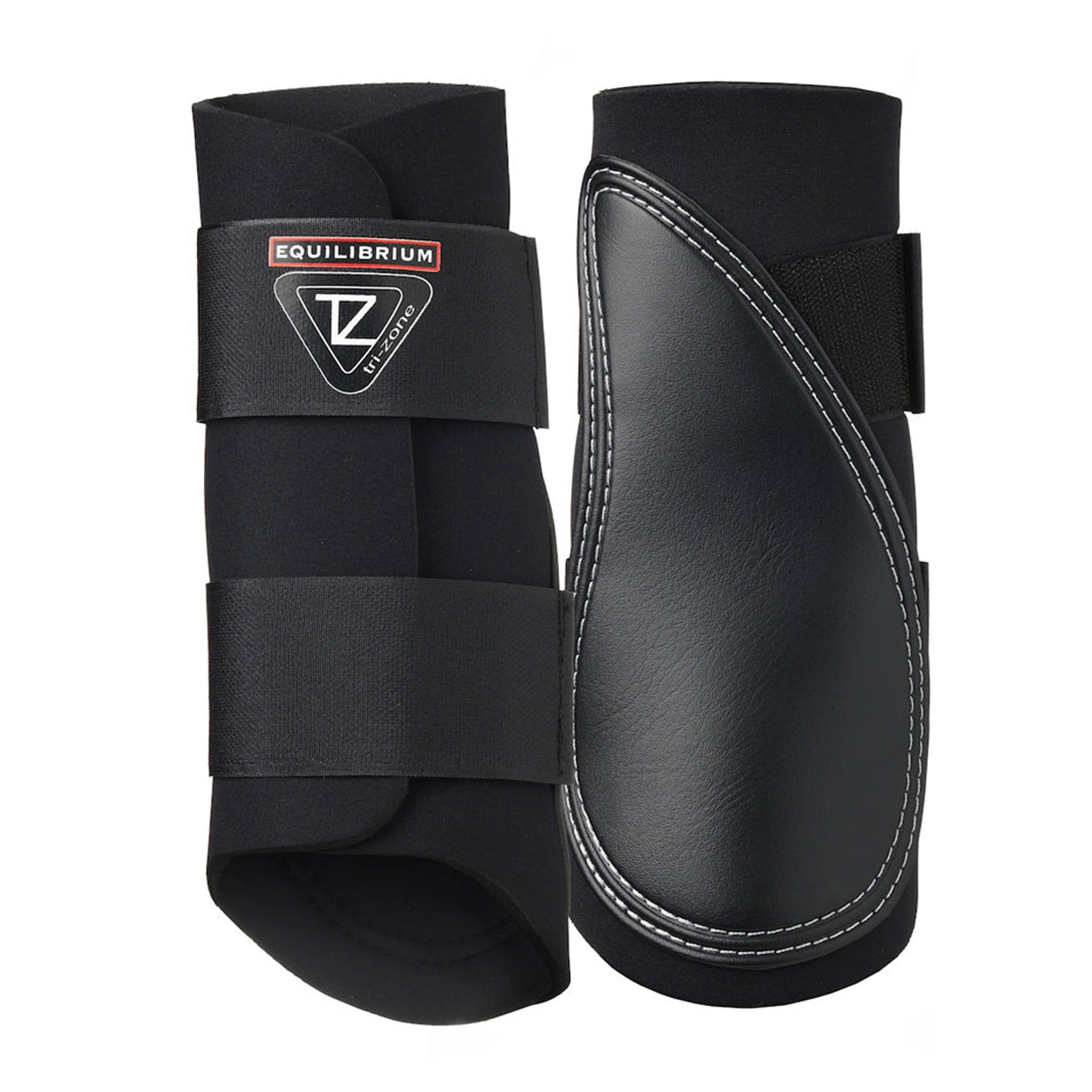 Equilibrium Tri Zone Brushing Boots in Black