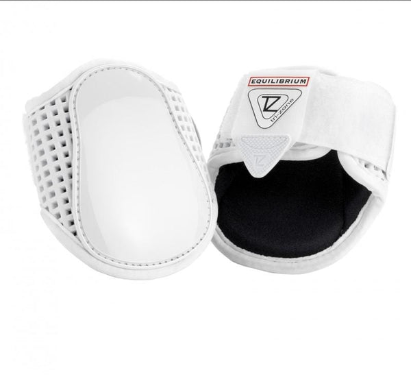 Equilibrium Tri Zone Fetlock Boots in White