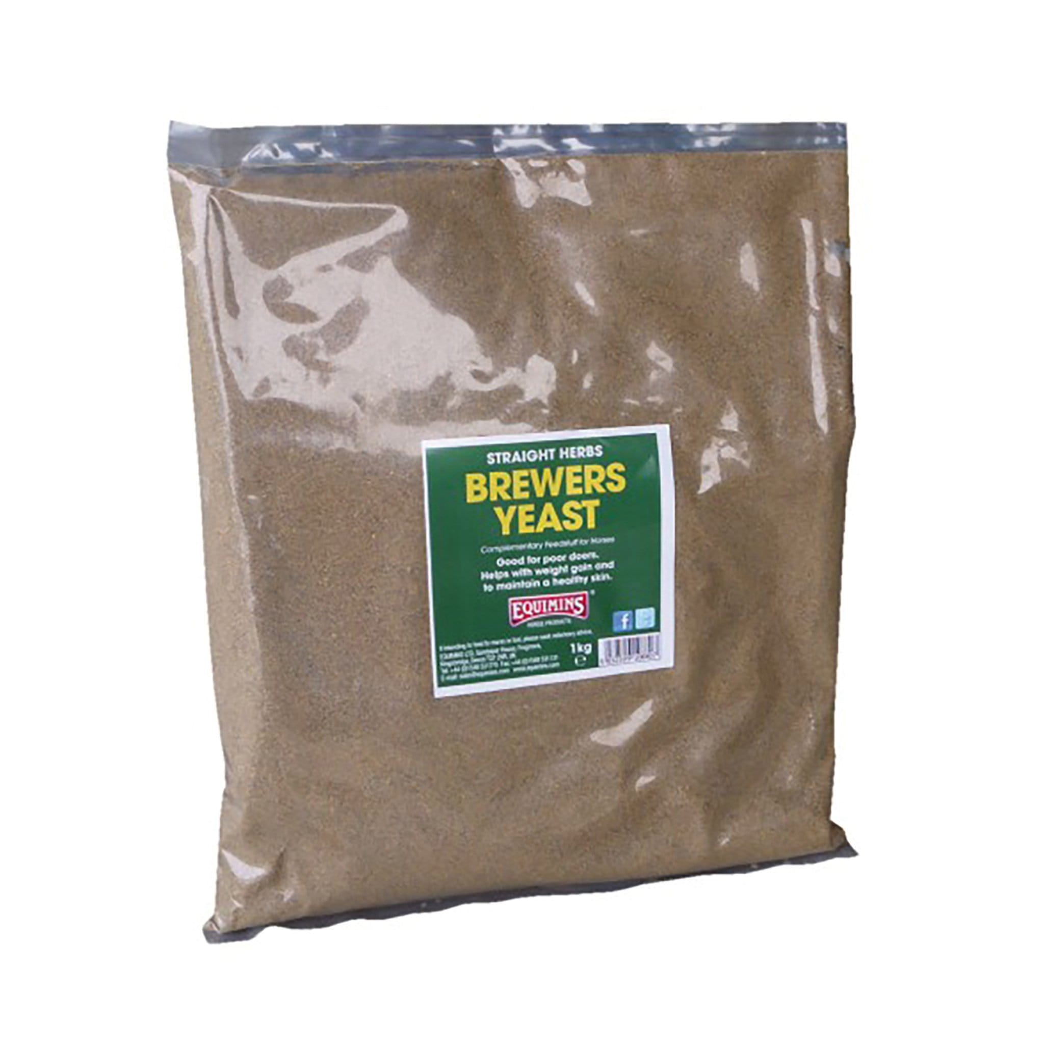 Equimins Straight Herbs Brewers Yeast 1KG EQS1300