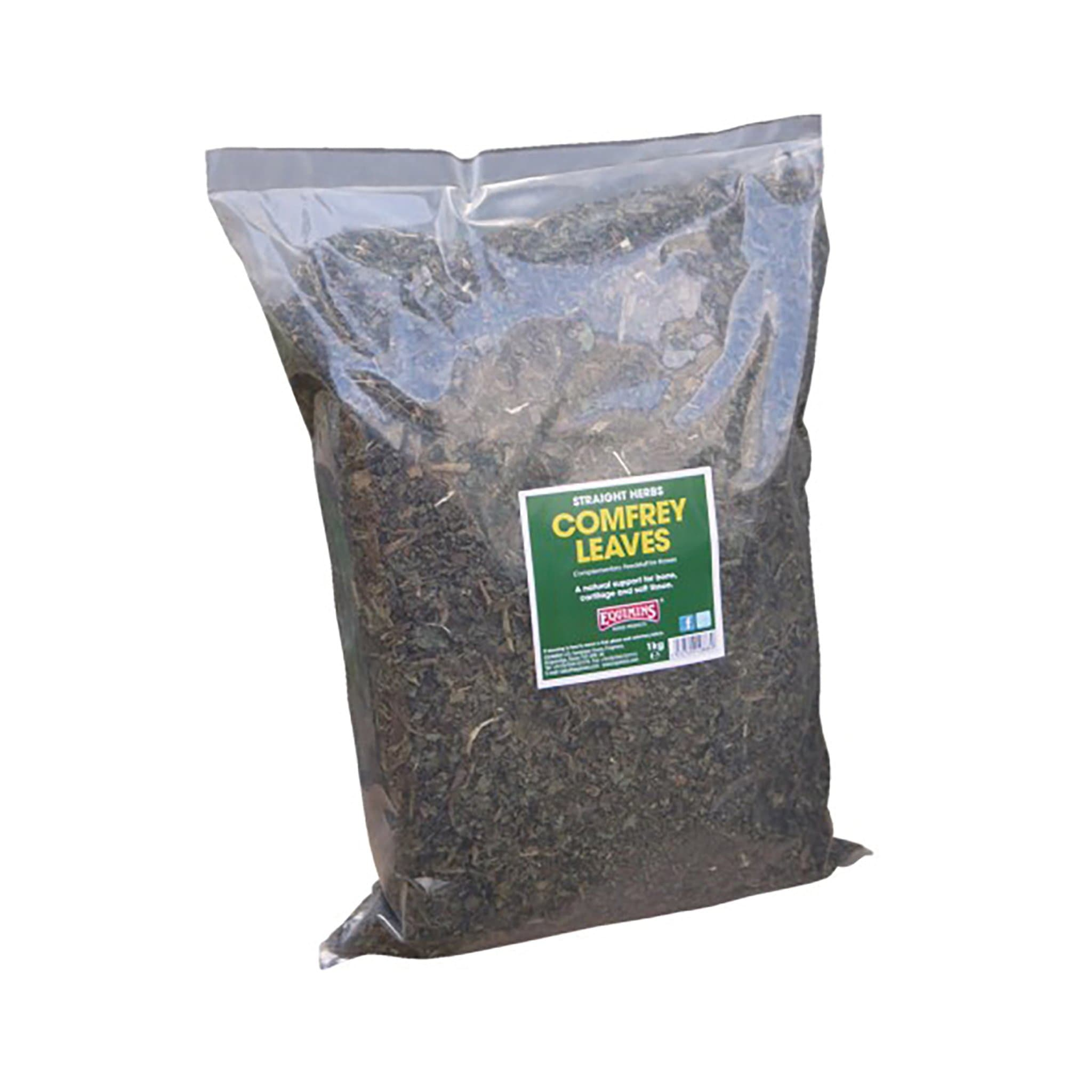 Equimins Straight Herbs Comfrey Leaves 1KG EQS1330