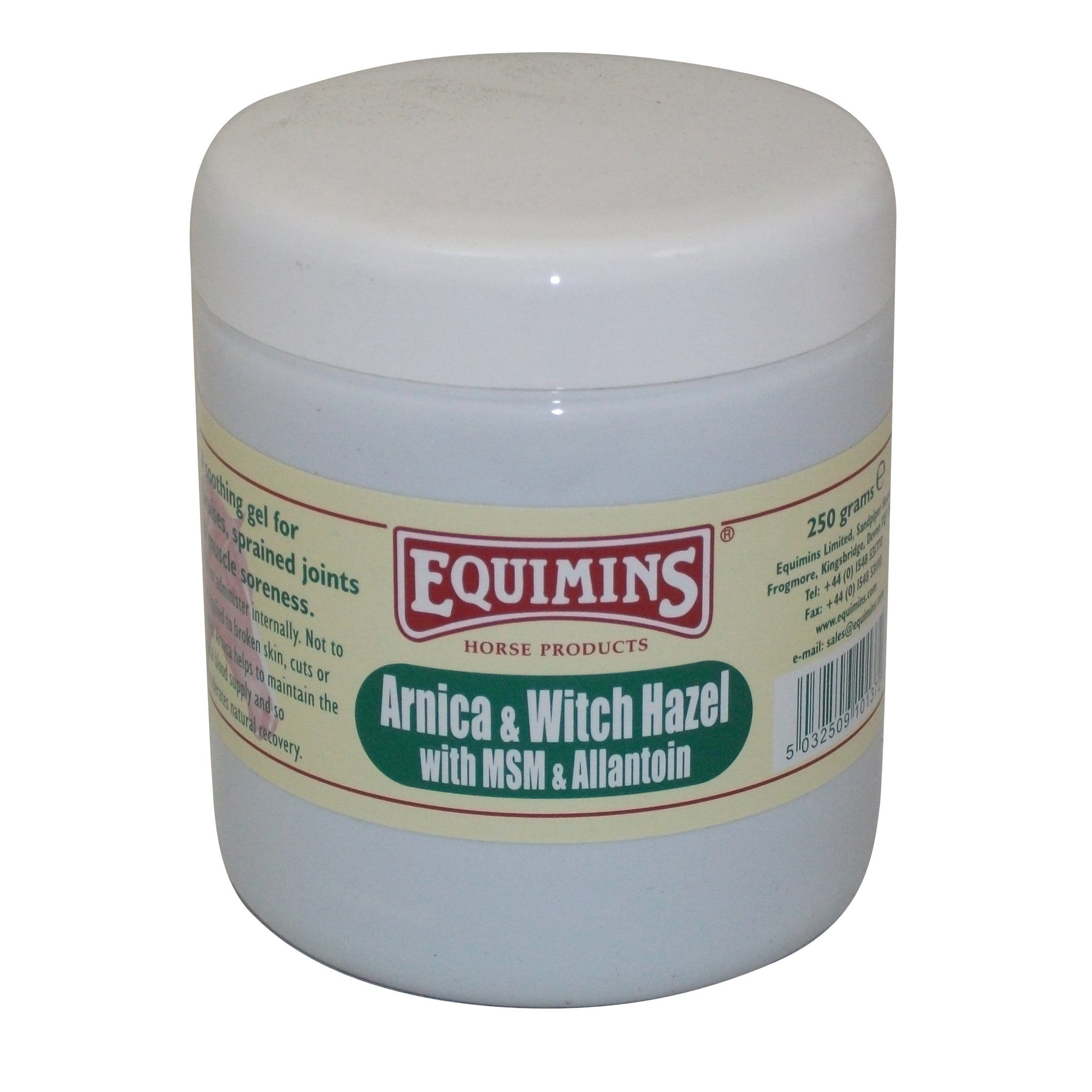 Equimins Arnica and Witch Hazel Gel 250g EQS0012