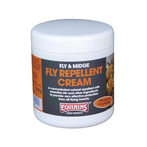 Equimins Fly Repellent Cream in a 250g tub EQS0120