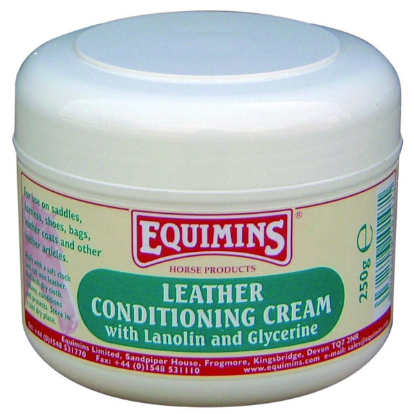 Equimins Leather Conditioning Cream 250g EQS0190
