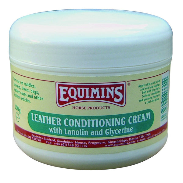 Equimins Leather Conditioning Cream 500g EQS0191