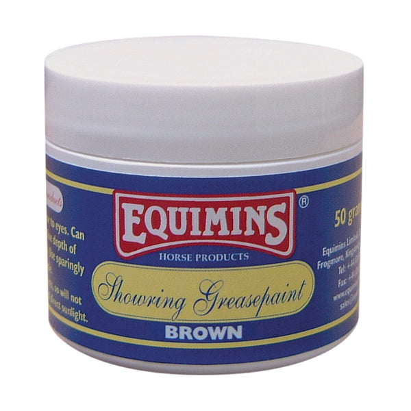 Equimins Showring Greasepaint Brown EQS0826