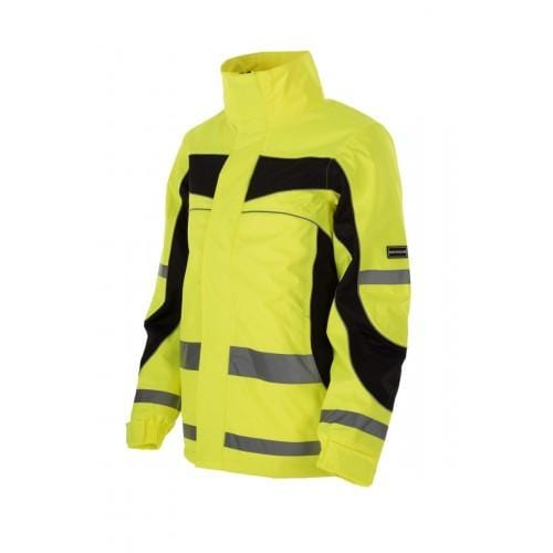 Equisafety Aspey Children's Winter Jacket Yellow Front 614282