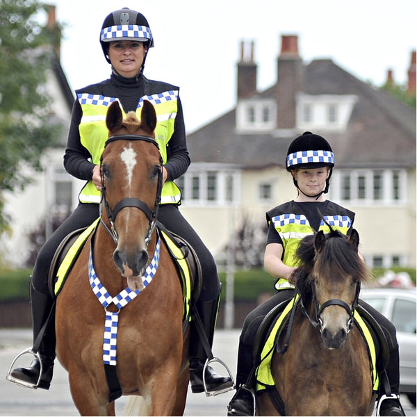 Equisafety Polite Waistcoat Please Slow Down Lifestyle Two Riders 608014