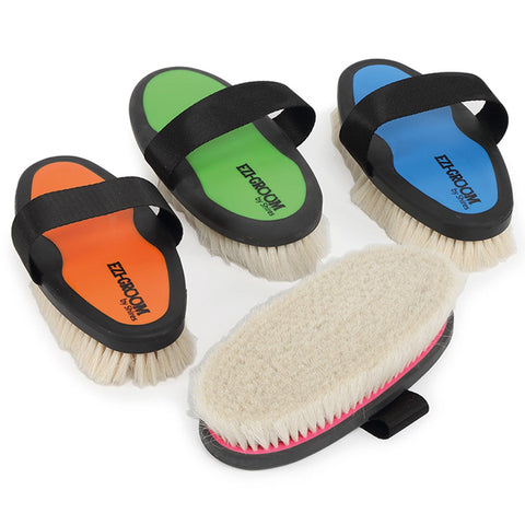 EZI-GROOM Grip Body Brush with Goat Hair All 1399