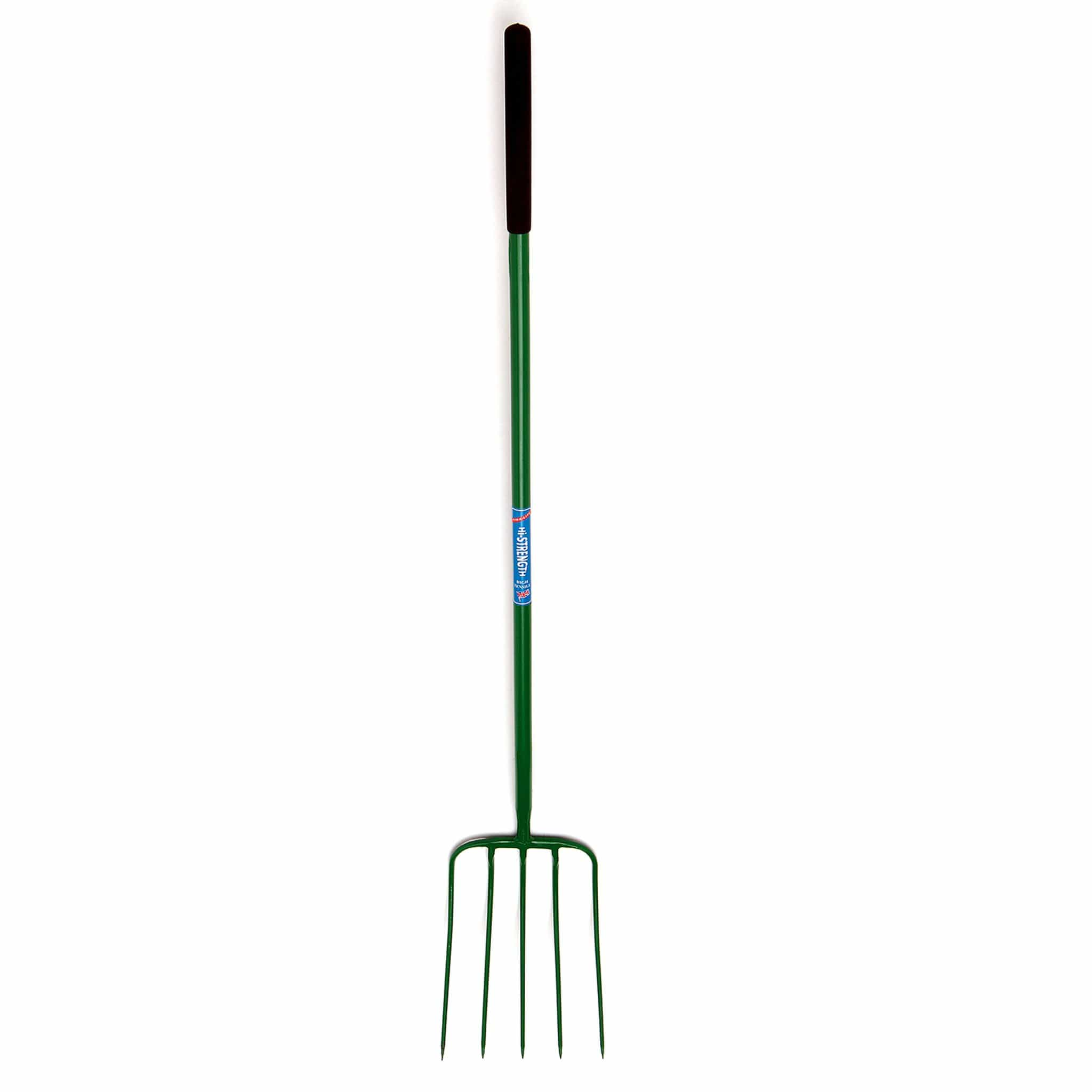 Fyna-Lite High-Strength 5 Prong Manure Fork Long Handle FYN0050.