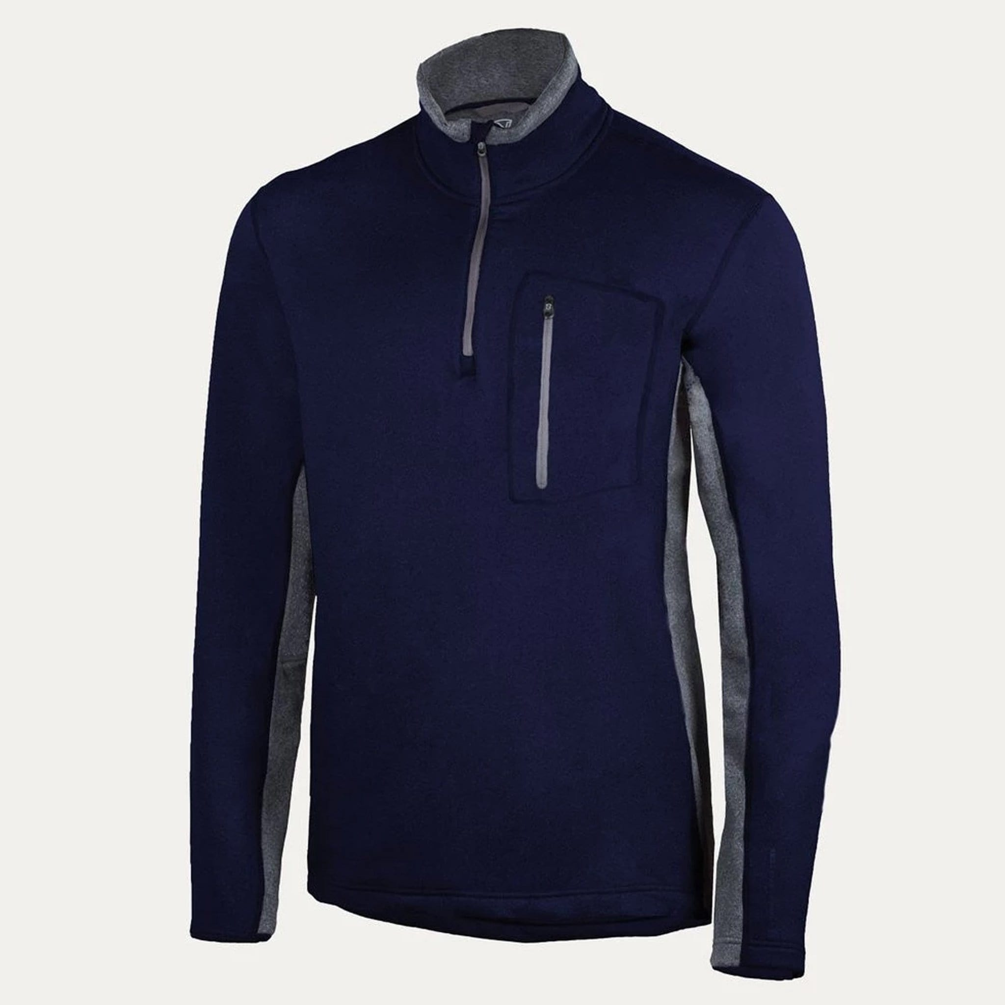 Noble Equestrian Men's Fortitude Quarter Zip Top Navy Studio 11504