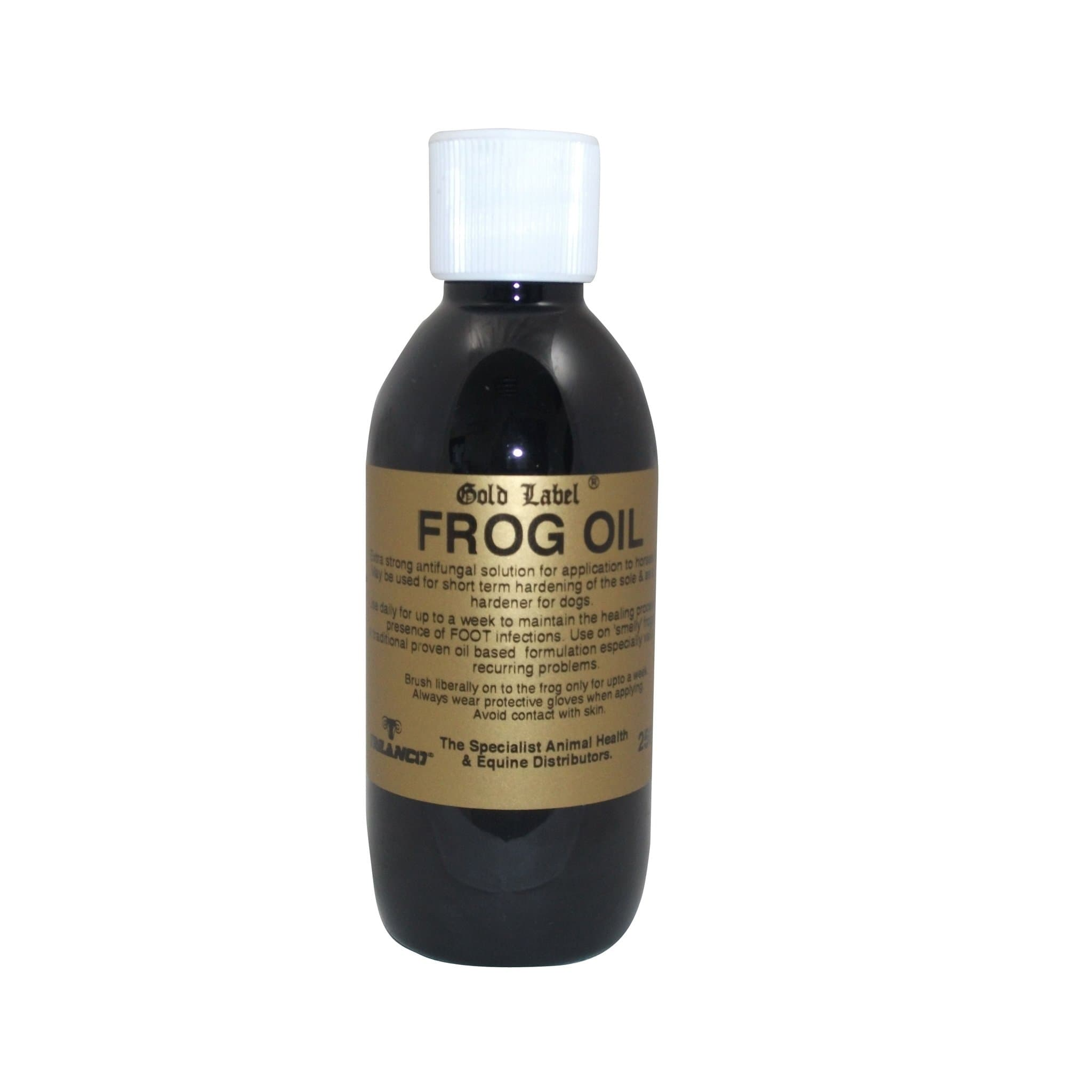 Gold Label Frog Oil 250ml GLD0082