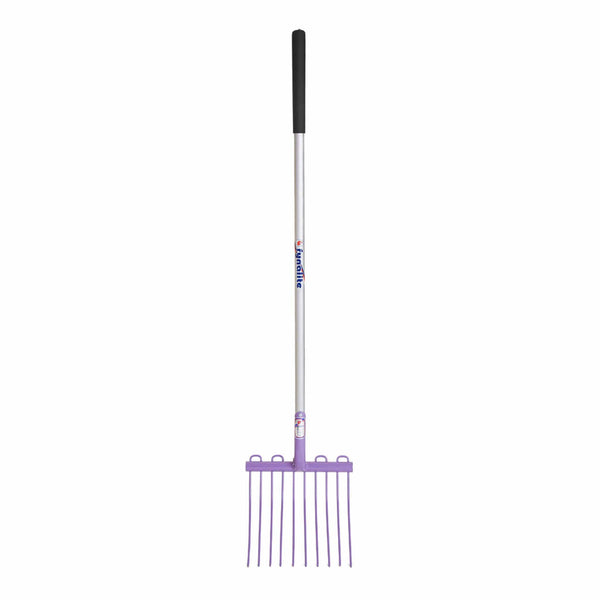 Fyna-Lite Multi Mucka Stable Fork Purple 120cm Long Handle