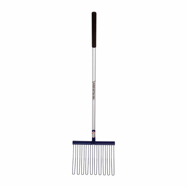 Fyna-Lite Rubber Matting Fork Long Handle Blue 120cm