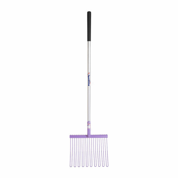 Fyna-Lite Rubber Matting Fork Long Handle Purple 120cm