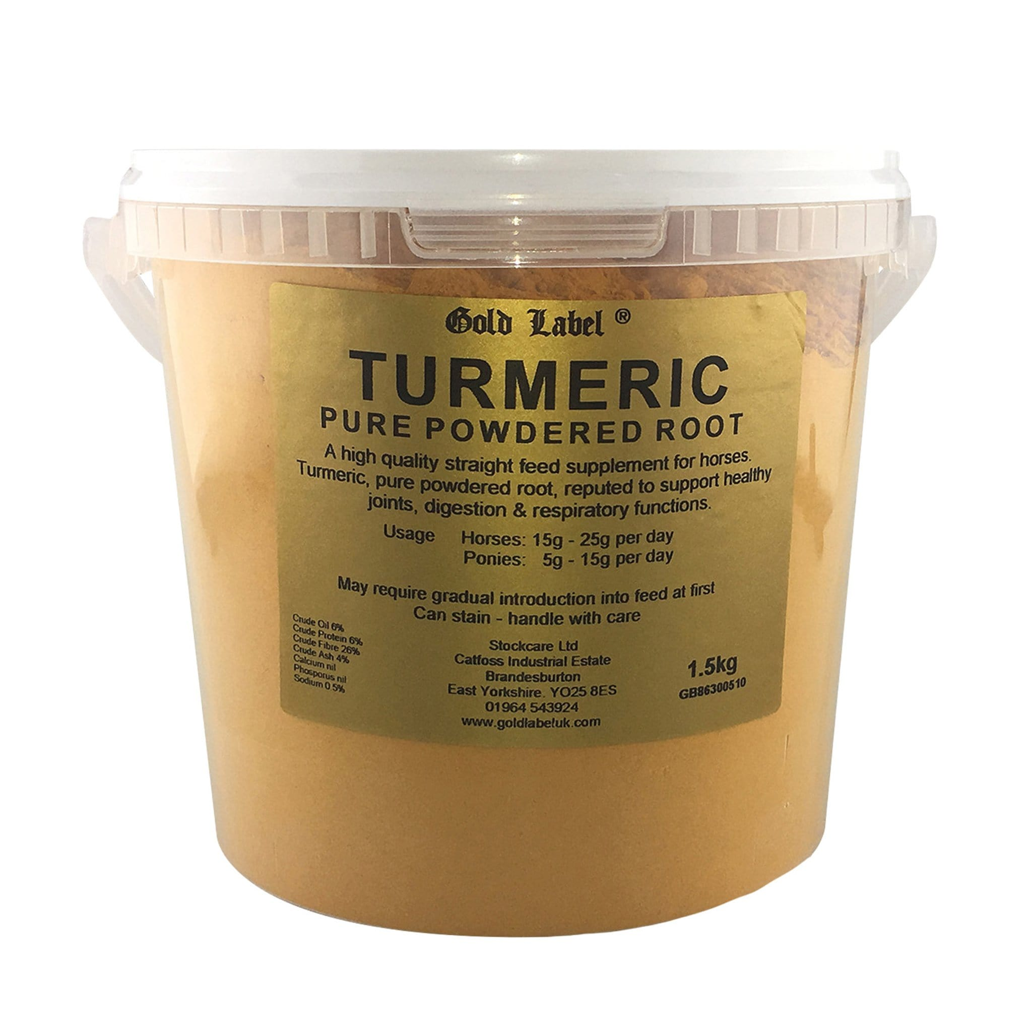 GLD1840 Gold Label Turmeric Supplement