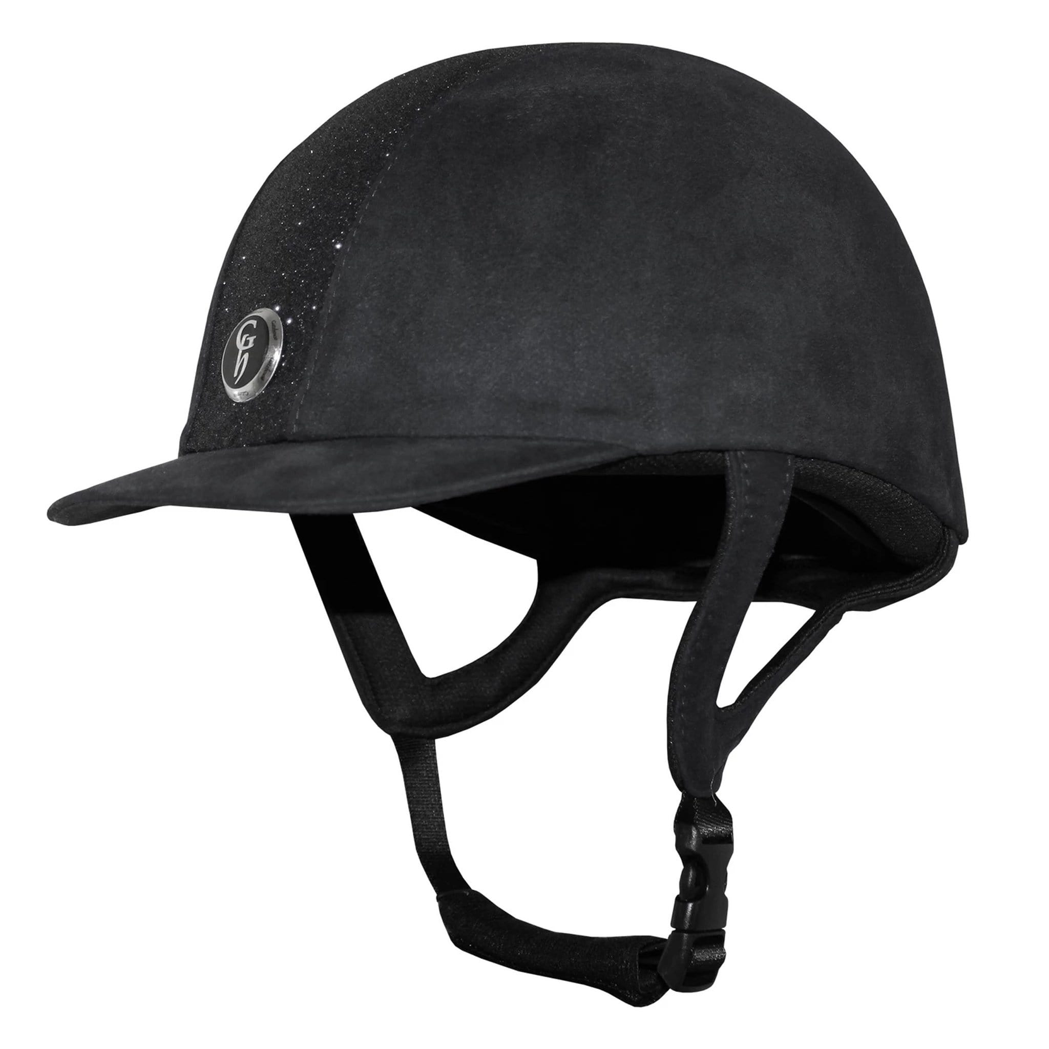 Gatehouse Jeunesse Riding Hat Black Glitter 307682.