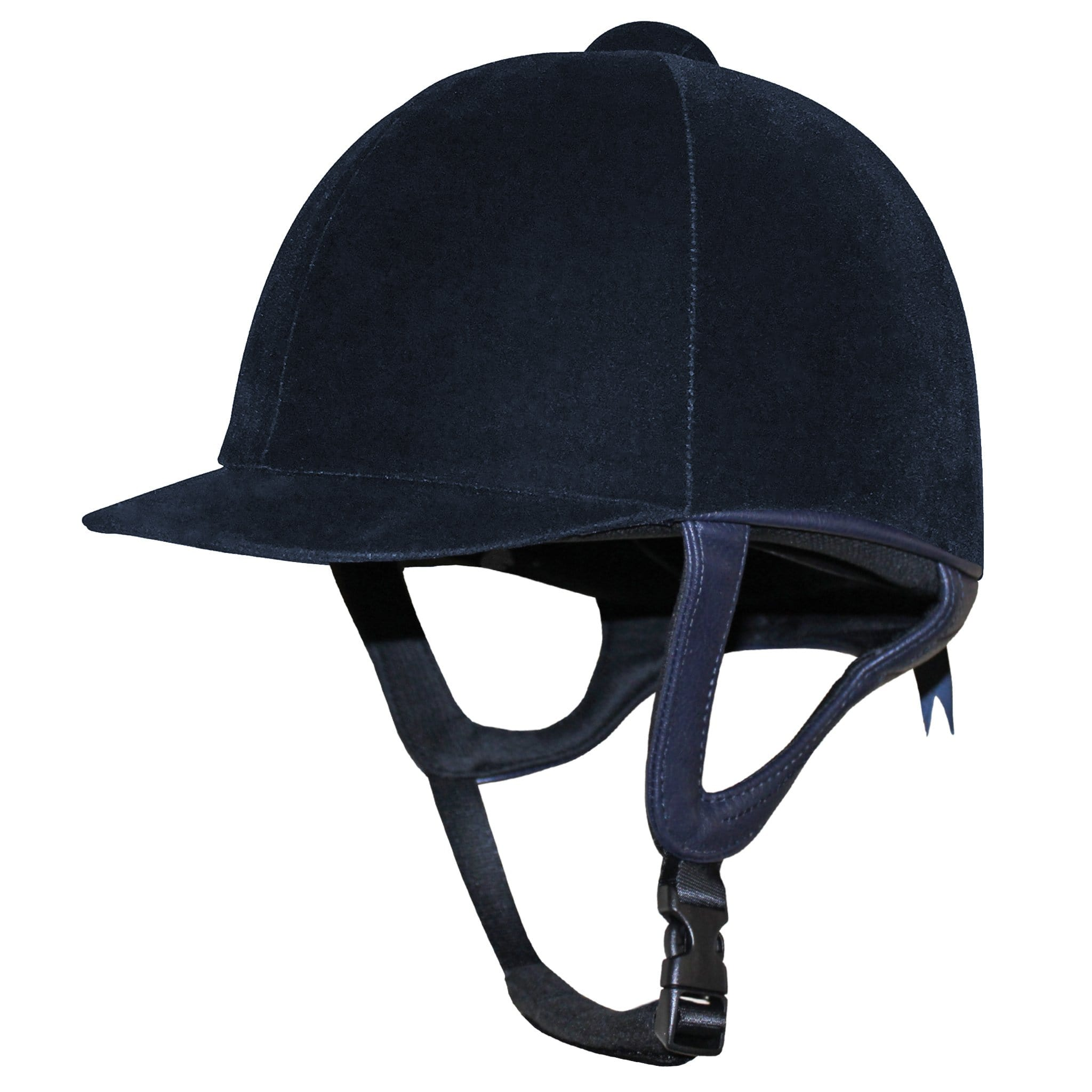 Gatehouse Jeunesse Velvet Riding Hat Navy.