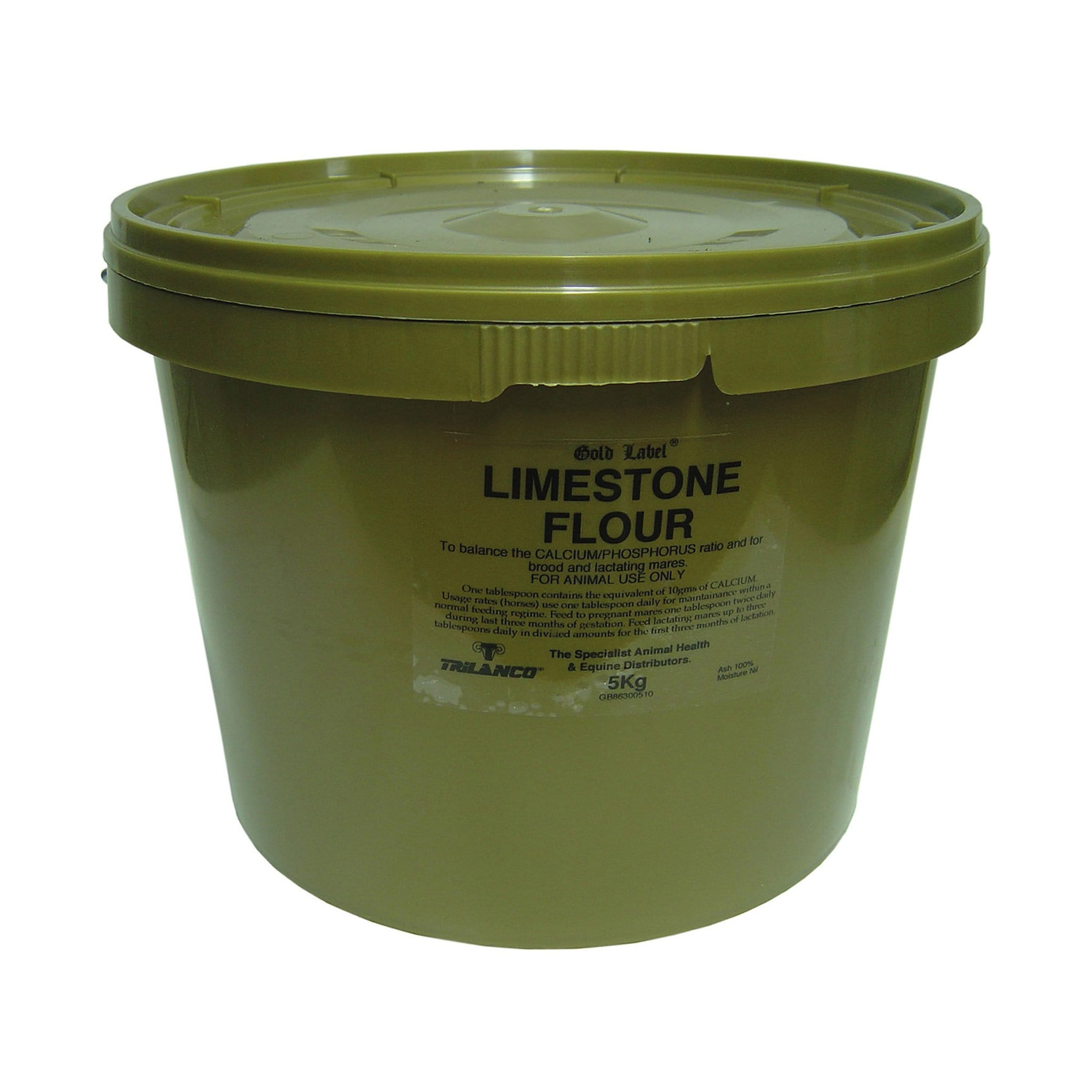 Gold Label Limestone Flour Supplement 5KG GLD0235.