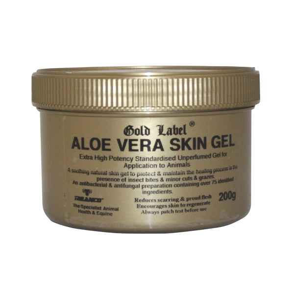 Gold Label Aloe Vera Gel 200g GLD0930