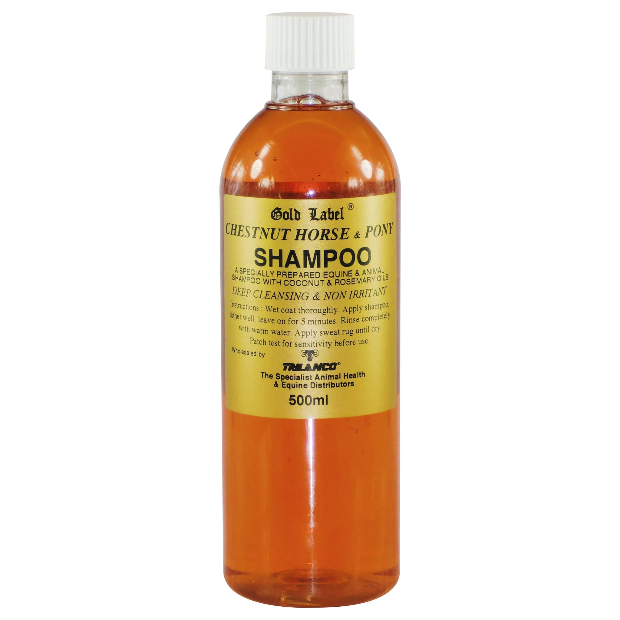Gold Label Chestnut Horse and Pony Shampoo GLD1620