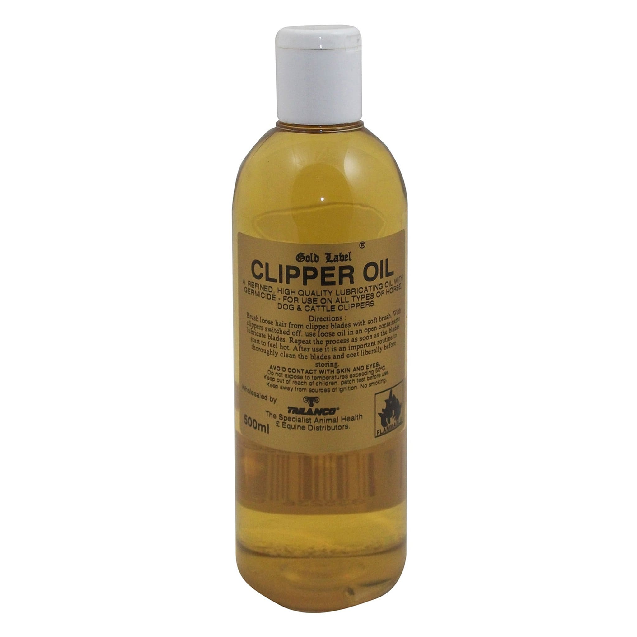 Gold Label Clipper Oil 500ml GLD0250