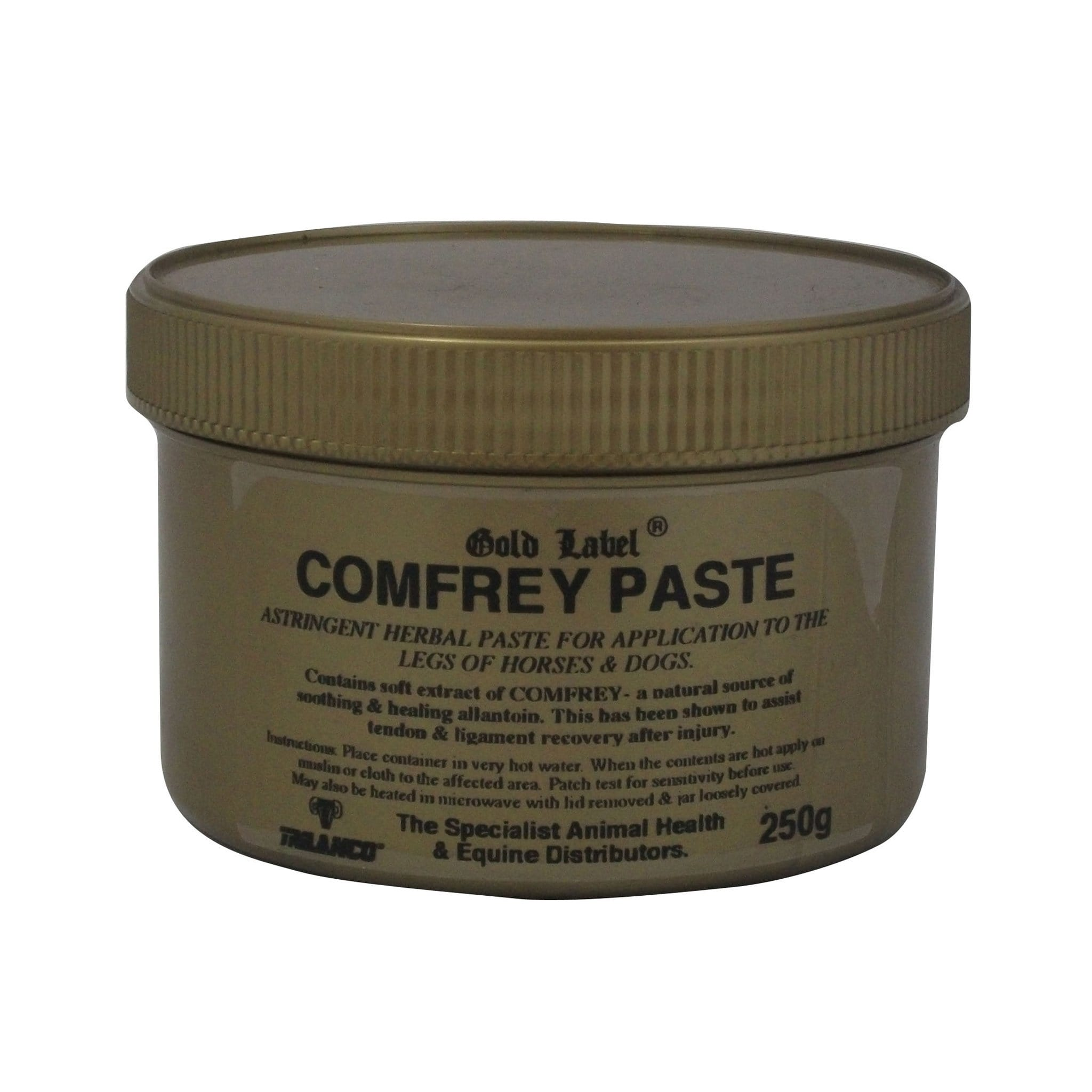 Gold Label Comfrey Paste GLD0121