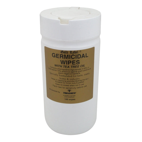 Gold Label Germicidal Wipes 100 wipes GLD0153