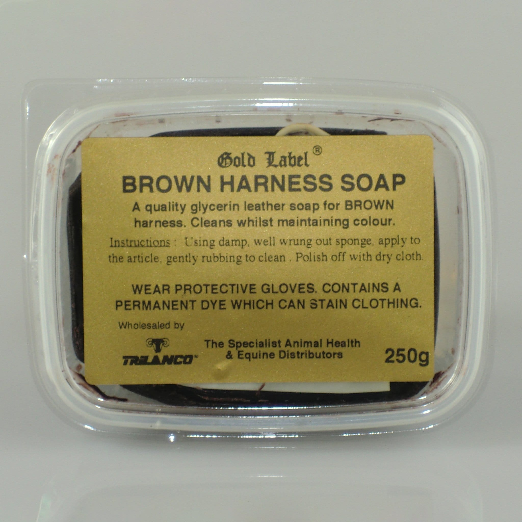 Gold Label Harness Soap Brown GLD0269