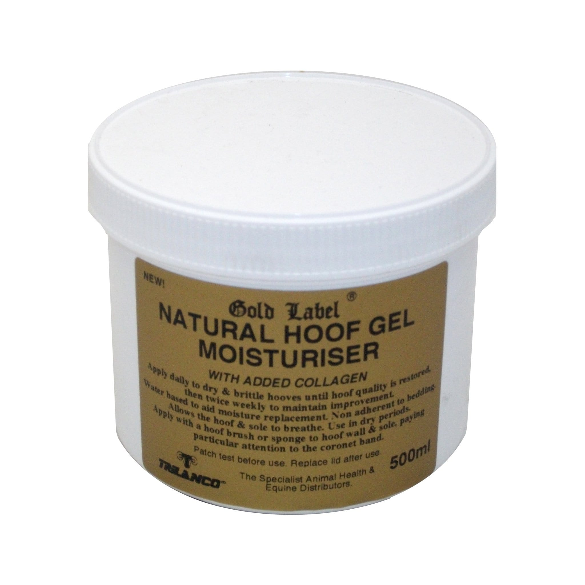 Gold Label Hoof Gel Moisturiser Natural GLD1370