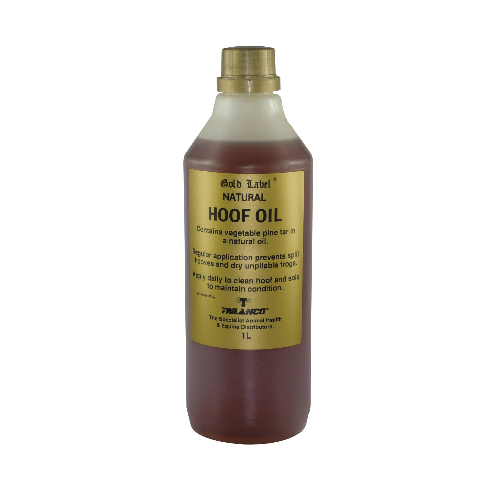 Gold Label Hoof Oil 500ml Natural GLD1500