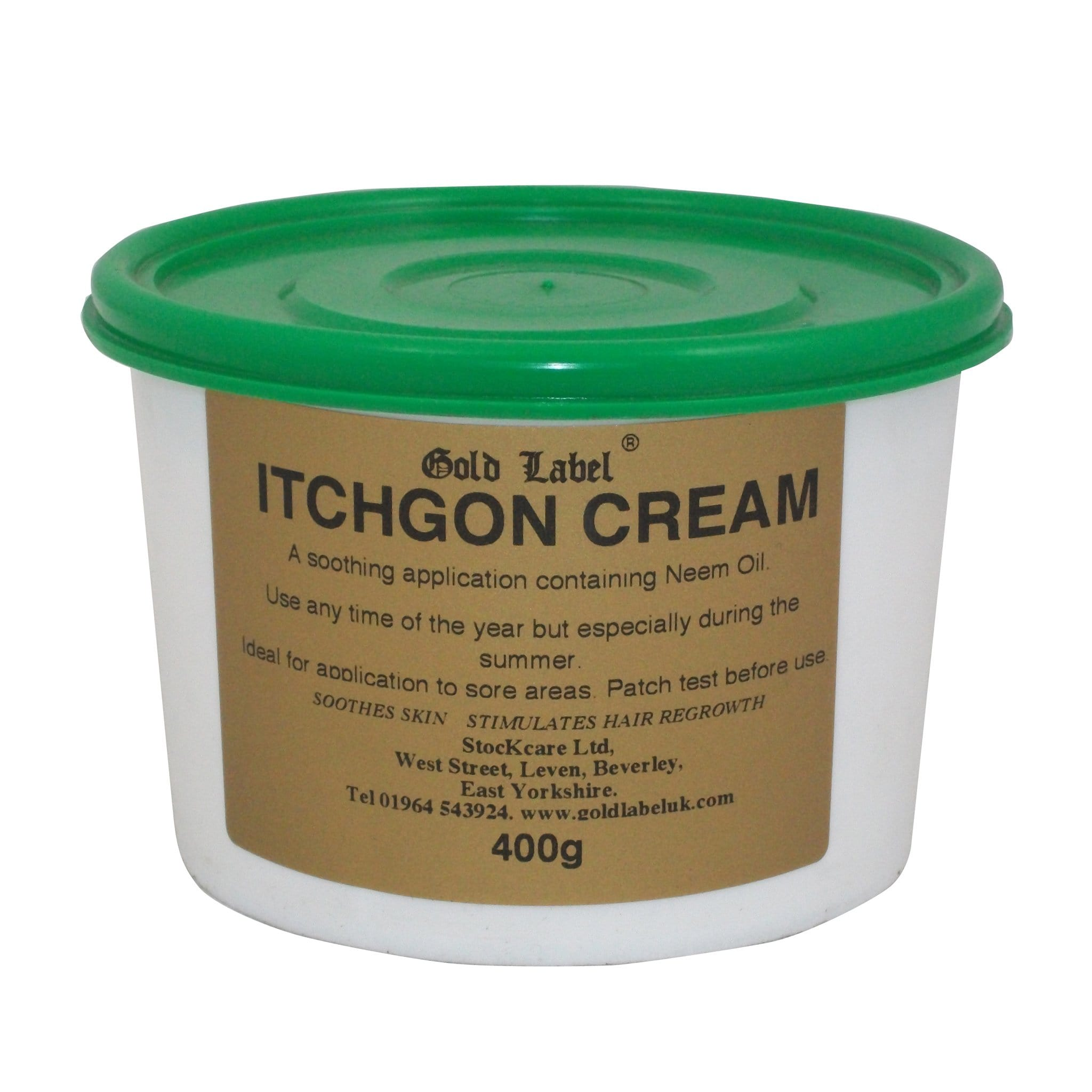 Gold Label Itchgon Cream 400g GLD0420