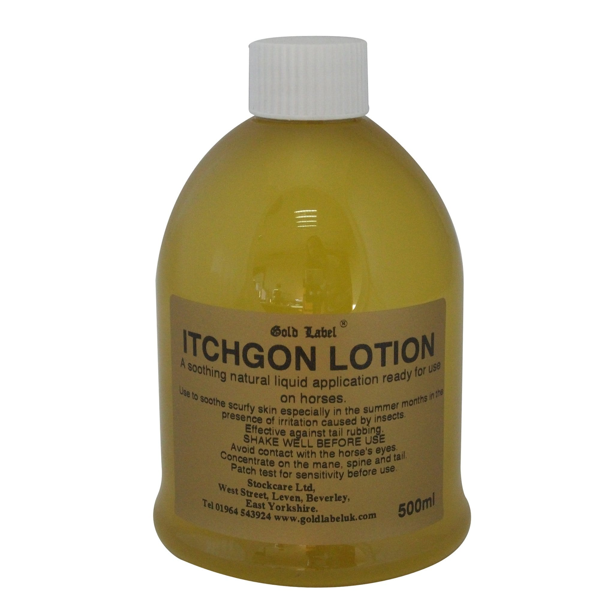 Gold Label Itchgon Lotion 500ml GLD0161