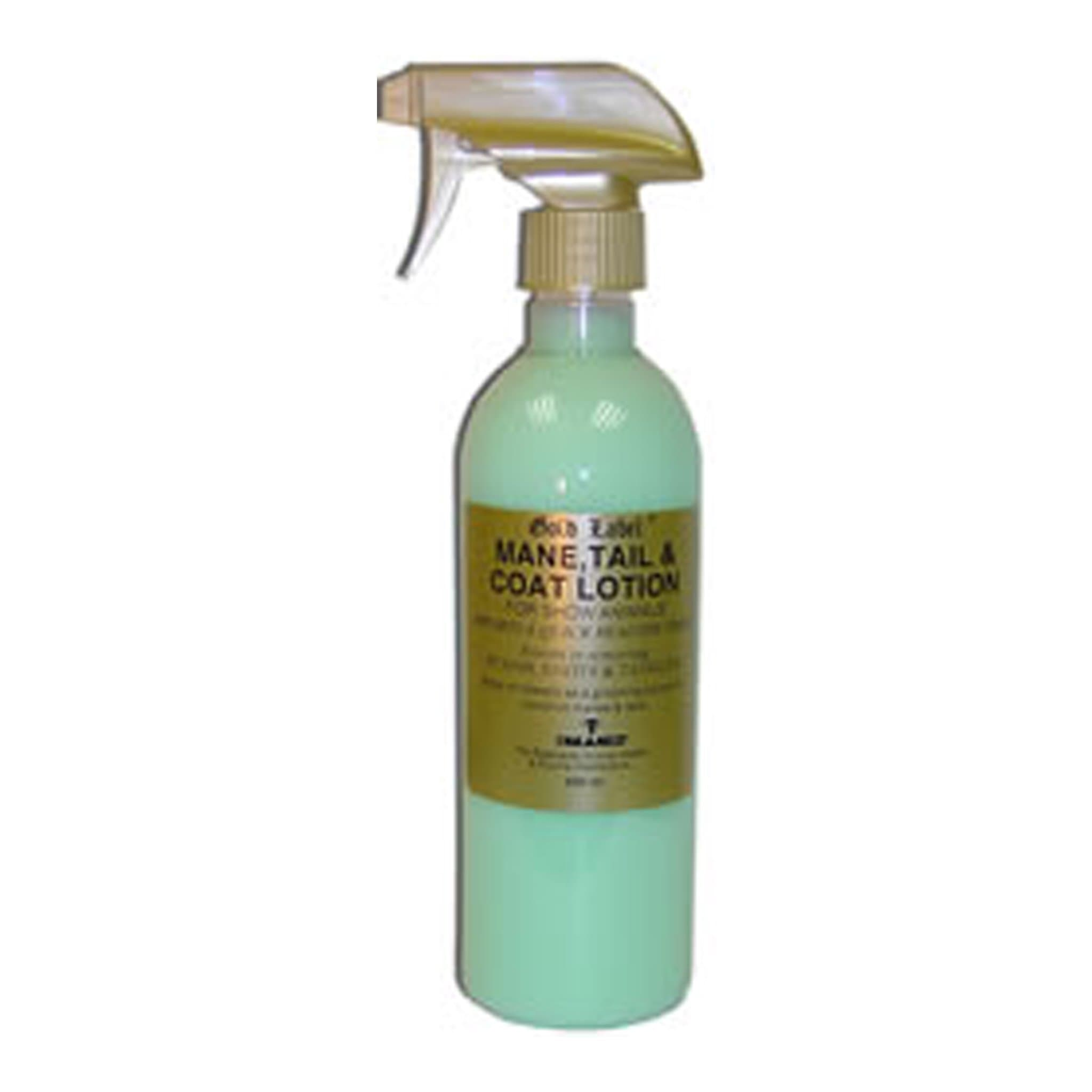 Gold Label Mane, Tail and Coat Spray 500ML GLD0203.