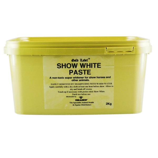 Gold Label Show White Paste 2kg GLD1442