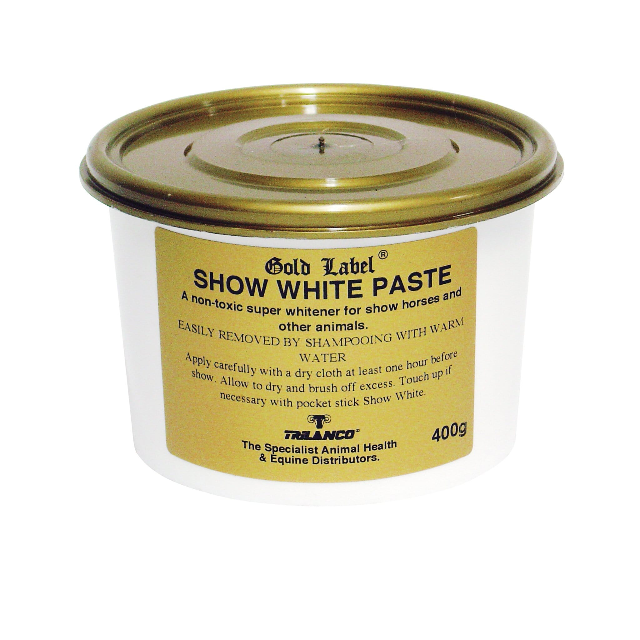 Gold Label Show White Paste GLD0208
