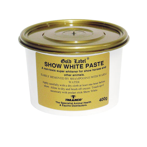 Gold Label Show White Paste 400g GLD0208