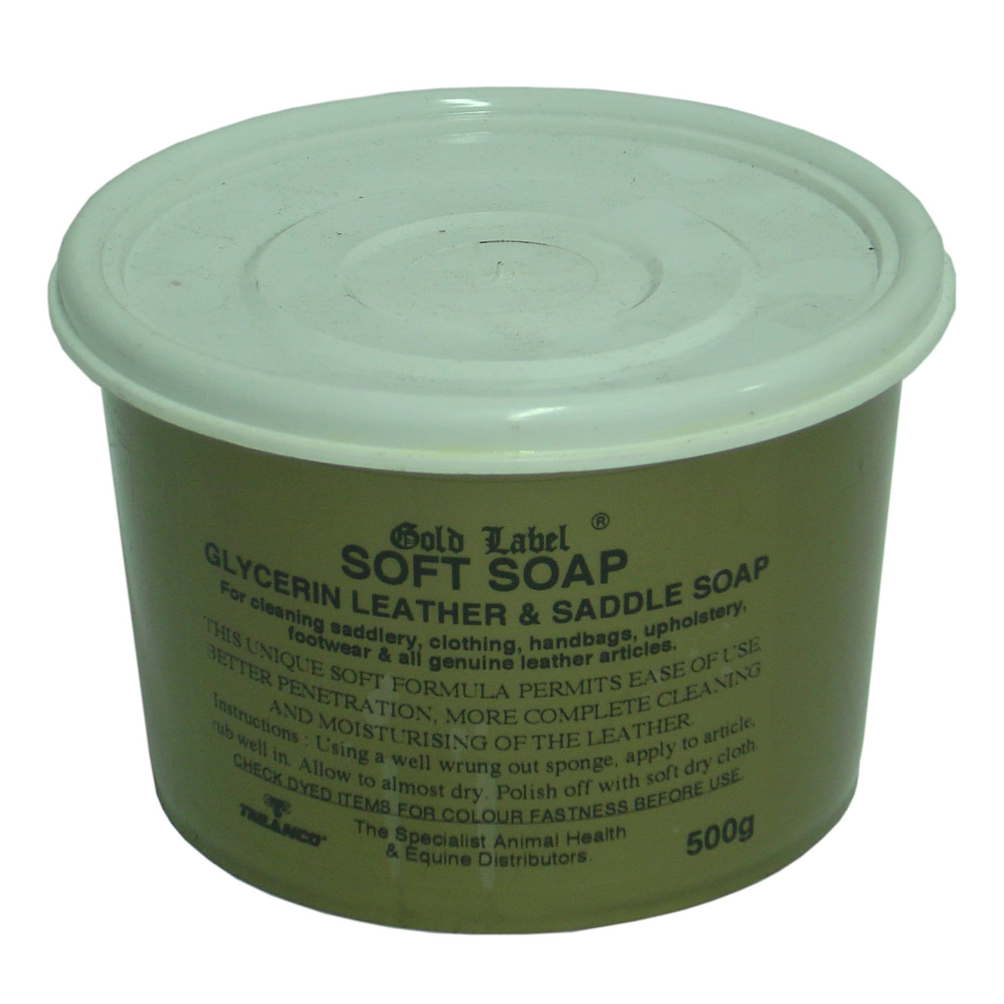 Gold Label Soft Soap 500g GLD0304