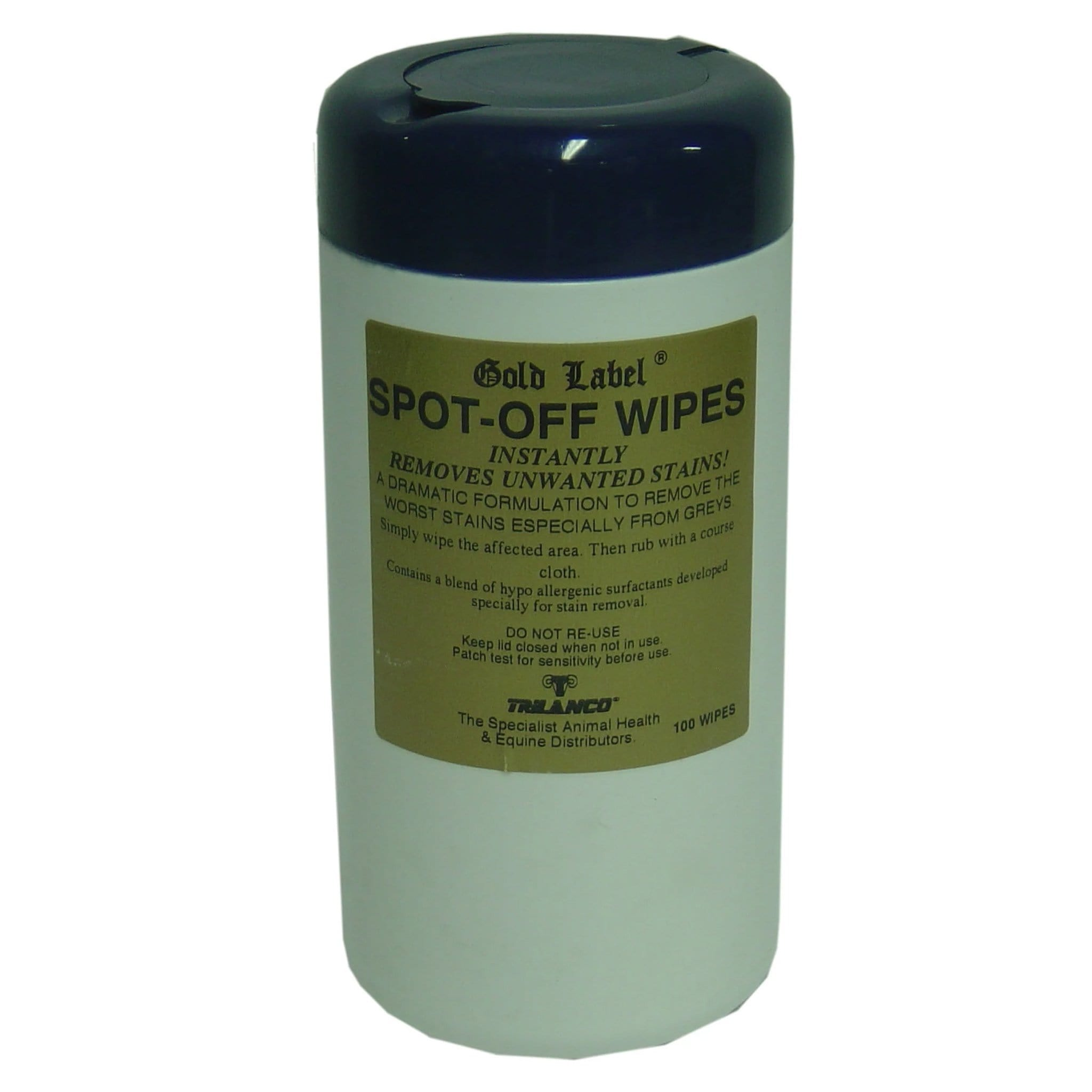 Gold Label Spot Off Wipes 100 pack GLD0321.