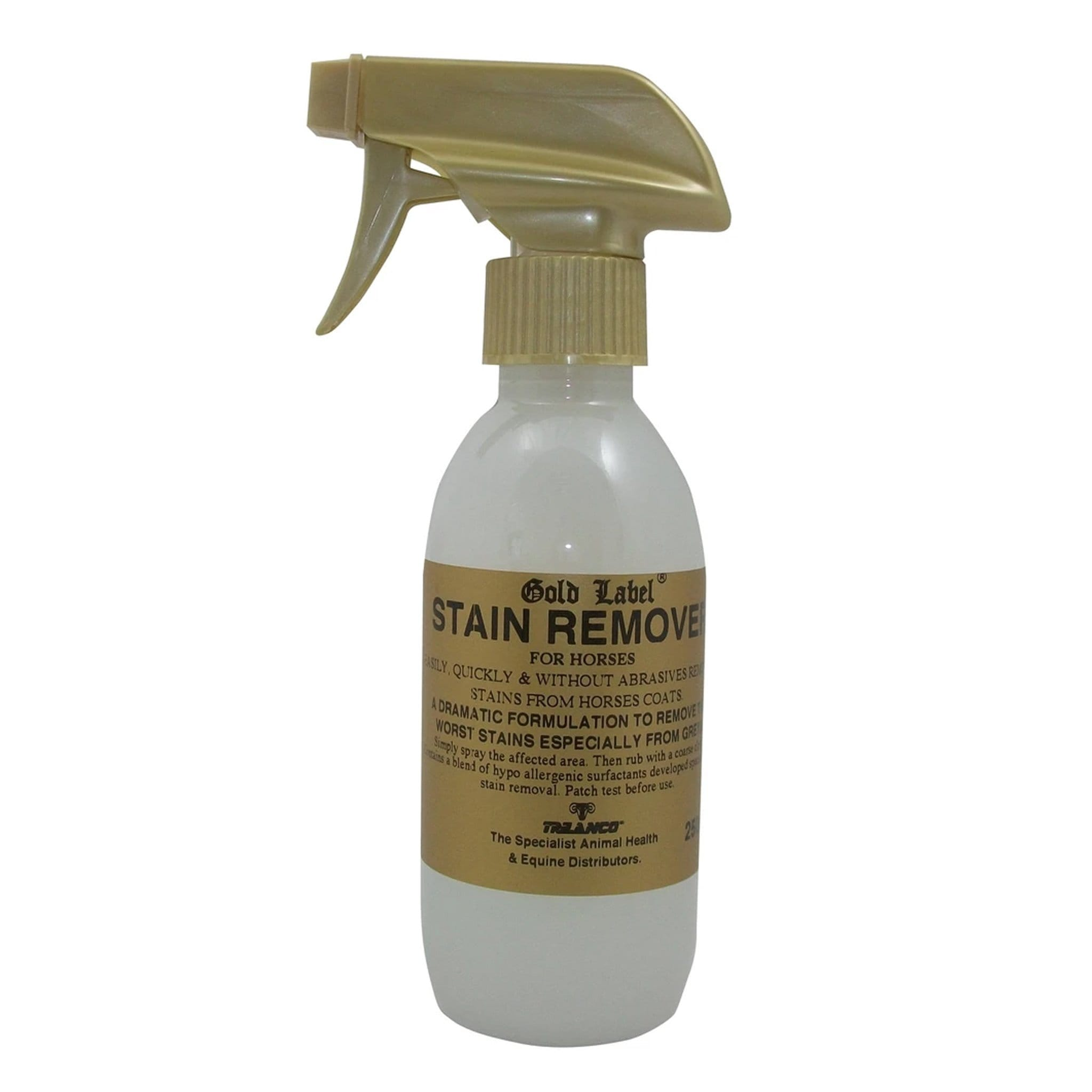 Gold Label Stain Remover 250ML GLD0506.