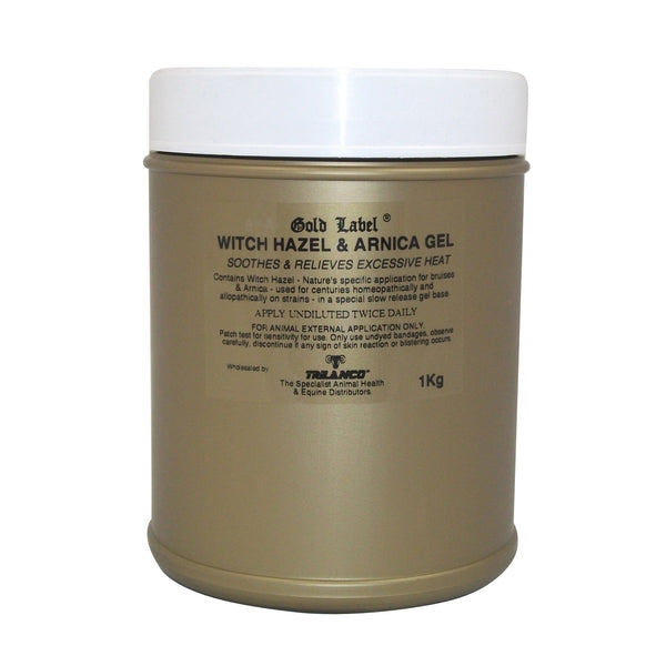 Gold Label Witch Hazel and Arnica Gel 1kg GLD0141