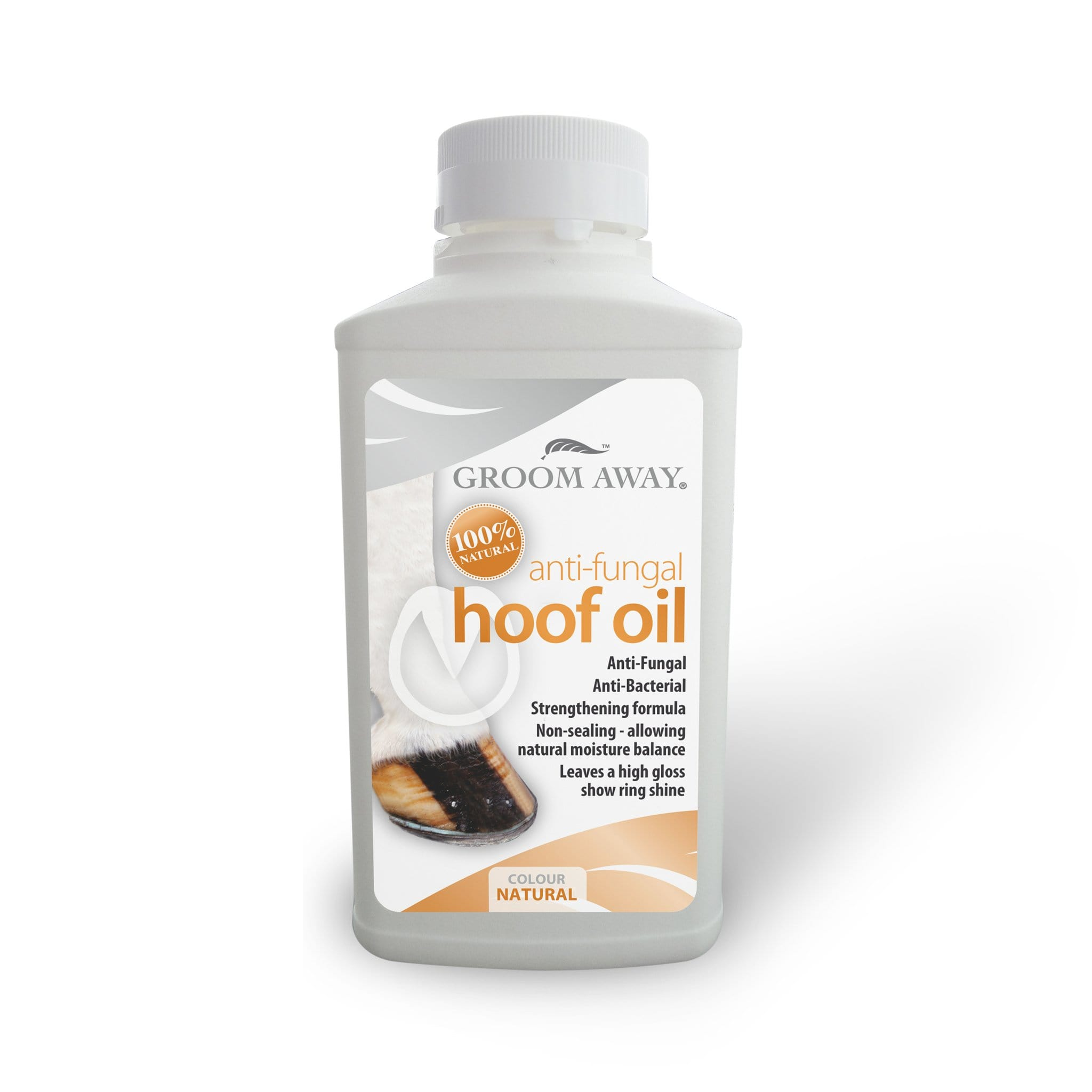 Groom Away Anti-Fungal Hoof Oil Natural FAY0170