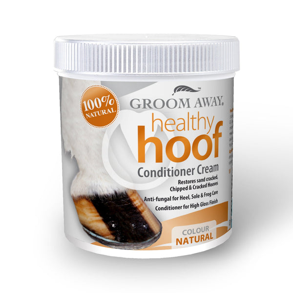 Groom Away Healthy Hoof Conditioner Cream 200ml Natural FAY0155
