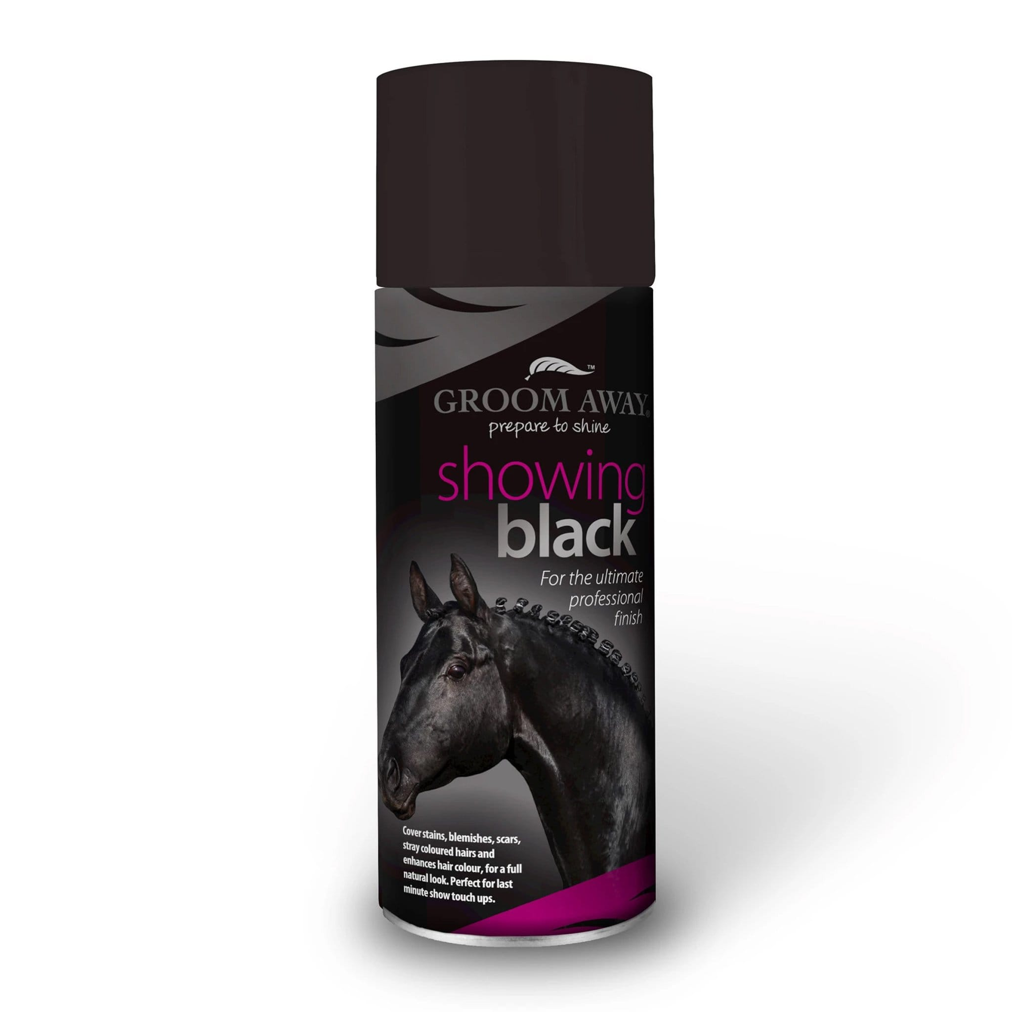 Groom Away Showing Black  400ML 6997.