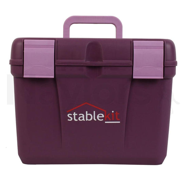 Grooming & Tack Box Purple