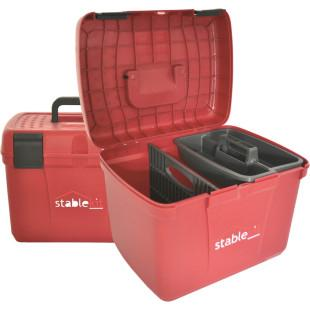 Grooming & Tack Box Red