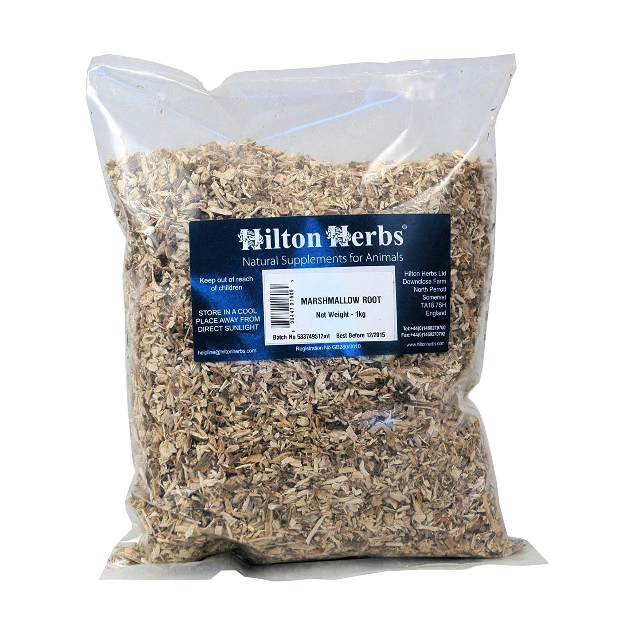 HHS1160 Hilton Herbs Marshmallow Root Supplement